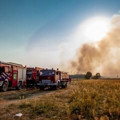 Pożar w Karasce opanowany! Trwa szacowanie strat