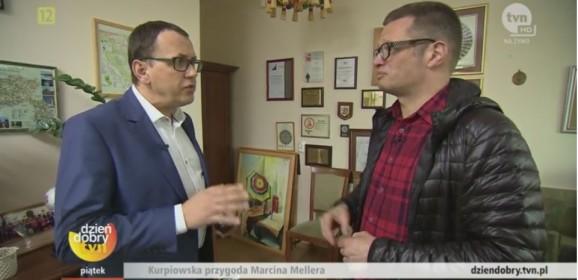 Marcin Meller i Dzień Dobry TVN na Kurpiach (WIDEO)