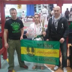 Natalia Mistrzynią Makroregionu Wschodniego w Karate