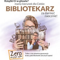 BIBLIOTEKARZ - NOWY BEZPŁATNY KIERUNEK!