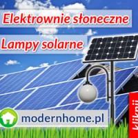 LAMPY ZASILANE ENERGIĄ SŁONECZNĄ - LAMPY SOLARNE LED, LAMPY HYBRYDOWE LED - NAJTANIEJ!